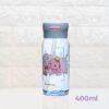 Пляшка для води CASNO 400 мл KXN-1195 Сіра (дельфін) з соломинкою фото 2