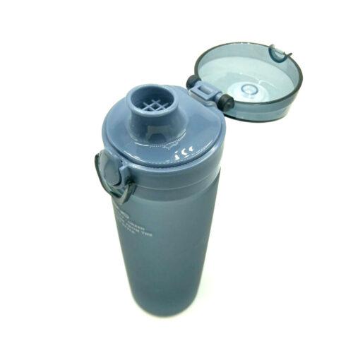 Пляшка для води CASNO 650 мл KXN-1157 Tritan Сіра фото 6