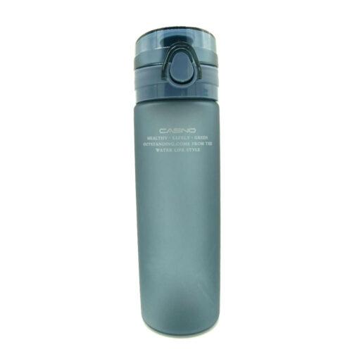 Пляшка для води CASNO 650 мл KXN-1157 Tritan Сіра фото 4