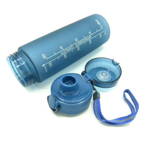 Пляшка для води CASNO 650 мл KXN-1157 Tritan Синя фото 5