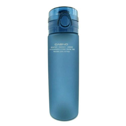 Пляшка для води CASNO 650 мл KXN-1157 Tritan Синя фото 4