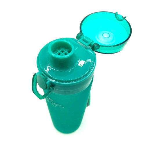 Пляшка для води CASNO 650 мл KXN-1157 Tritan Зелена фото 5