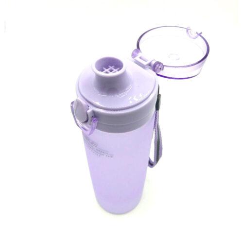 Пляшка для води CASNO 650 мл KXN-1157 Tritan Фіолетова фото 5