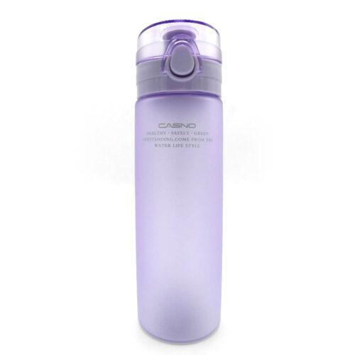 Пляшка для води CASNO 650 мл KXN-1157 Tritan Фіолетова фото 4
