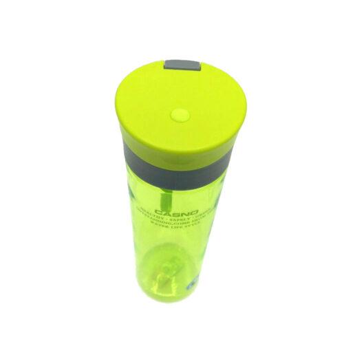 Пляшка для води CASNO 600 мл KXN-1145 Зелена + пластиковий вінчик фото 5
