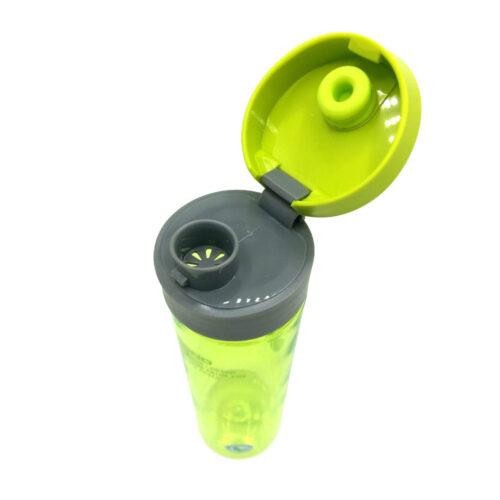 Пляшка для води CASNO 600 мл KXN-1145 Зелена + пластиковий вінчик фото 4