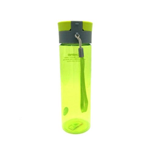 Пляшка для води CASNO 600 мл KXN-1145 Зелена + пластиковий вінчик фото 3