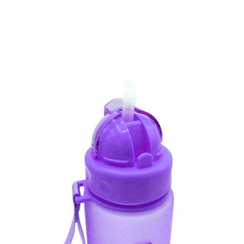 Пляшка для води CASNO 560 мл MX-5029 Фіолетова фото 4