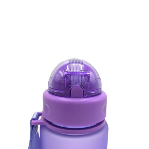 Пляшка для води CASNO 560 мл MX-5029 Фіолетова фото 5