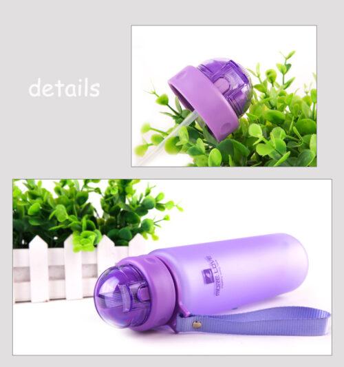 Пляшка для води CASNO 560 мл MX-5029 Фіолетова фото 6
