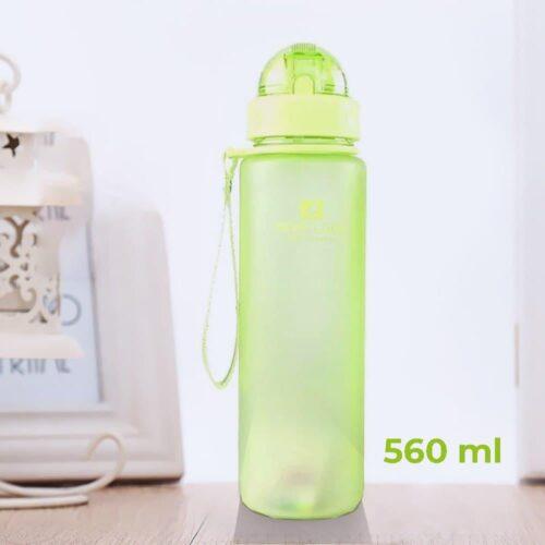 Пляшка для води CASNO 560 мл MX-5029 Зелена фото 1