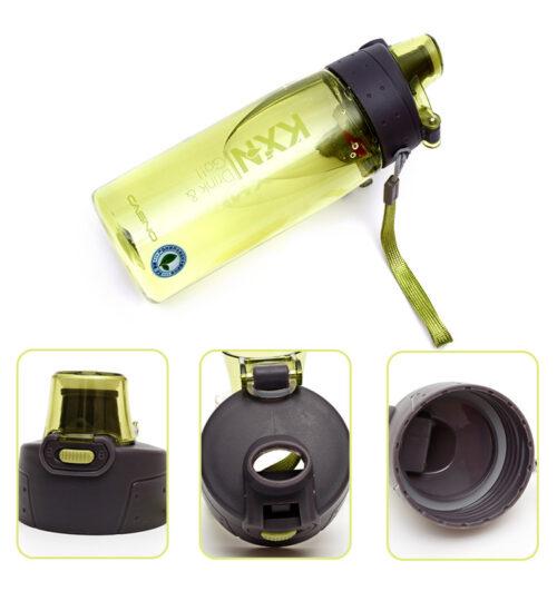 Пляшка для води CASNO 780 мл KXN-1180 Зелена фото 5