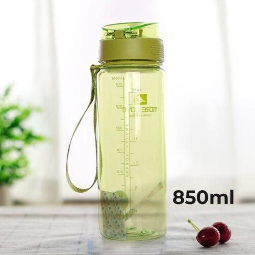 Пляшка для води CASNO 850 мл MX-5040 More Love Зелена фото 1