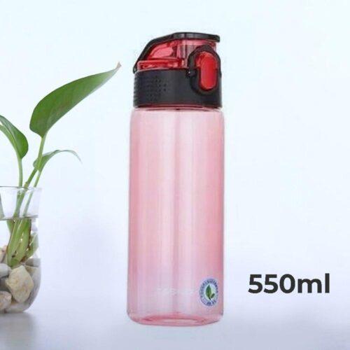 Пляшка для води CASNO 550 мл KXN-1215 Червона фото 1