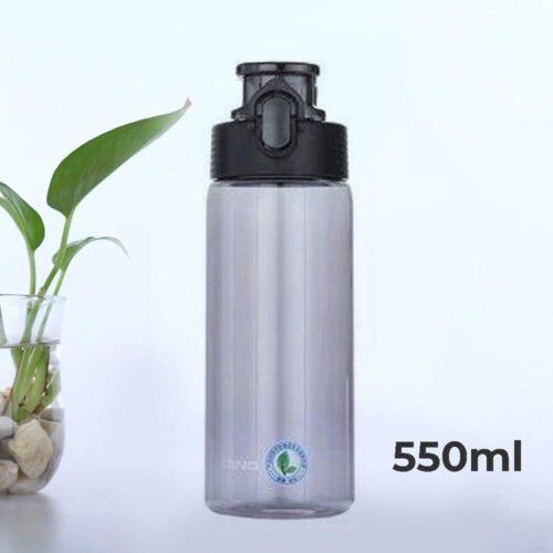 Пляшка для води CASNO 550 мл KXN-1215 Чорна фото 1