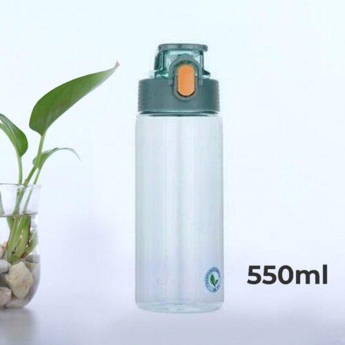 Пляшка для води CASNO 550 мл KXN-1215 Зелена фото 1
