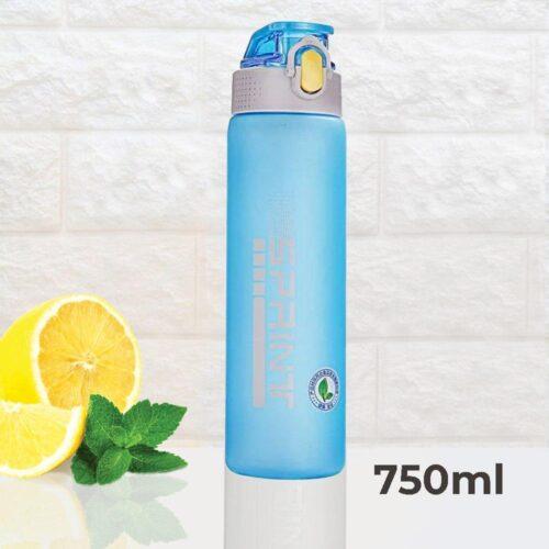 Пляшка для води CASNO 750 мл KXN-1226 Блакитна фото 1