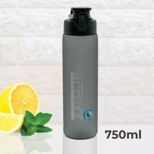 Пляшка для води CASNO 750 мл KXN-1226 Чорна фото 1
