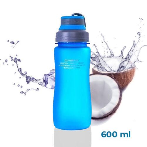Пляшка для води CASNO 600 мл KXN-1116 Синя фото 1