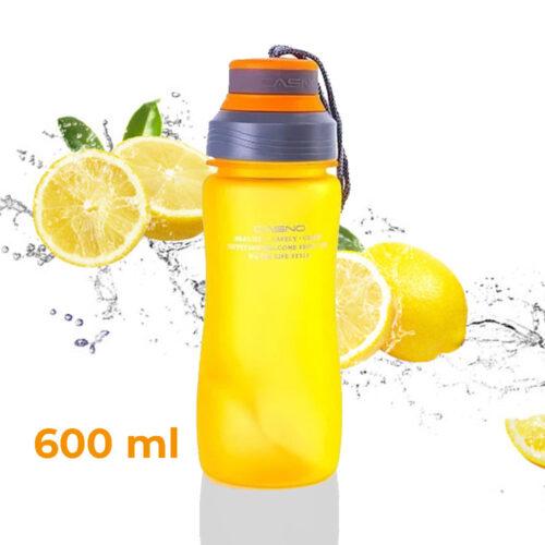 Пляшка для води CASNO 600 мл KXN-1116 Помаранчева фото 1