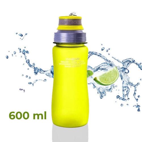 Пляшка для води CASNO 600 мл KXN-1116 Зелена фото 1