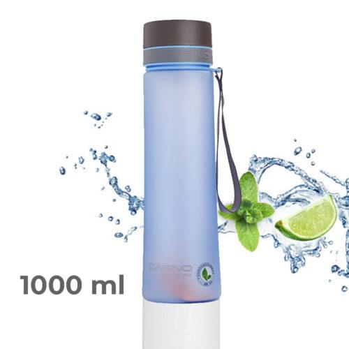 Пляшка для води CASNO 1000 мл KXN-1111 Блакитна фото 1