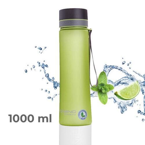 Пляшка для води CASNO 1000 мл KXN-1111 Зелена фото 1
