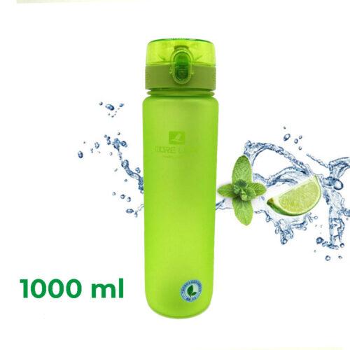 Пляшка для води CASNO 1050 мл MX-5041 More Love Зелена фото 1