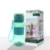 Пляшка для води CASNO 400 мл KXN-1104 Tritan Зелена фото 2