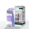 Пляшка для води CASNO 400 мл KXN-1104 Tritan Фіолетова фото 2