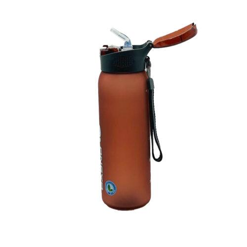 Пляшка для води CASNO 600 мл KXN-1196 Червона з соломинкою фото 6