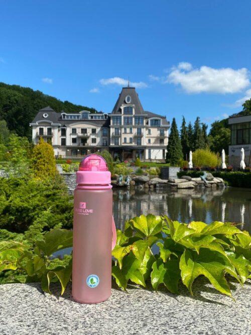 Пляшка для води CASNO 560 мл MX-5029 Рожева фото 7